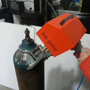 دستگاه حکاکی پرتابل روی کپسول